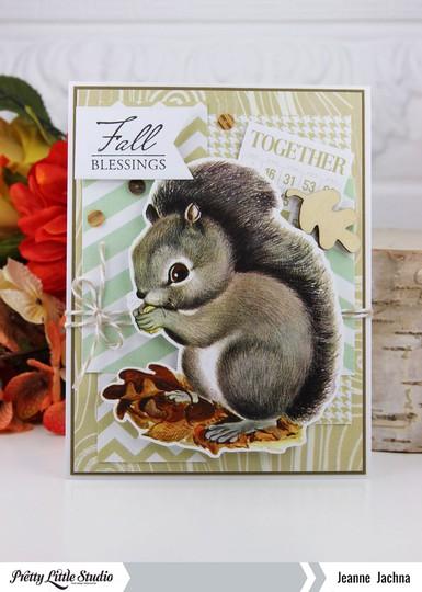 Fall squirrel original