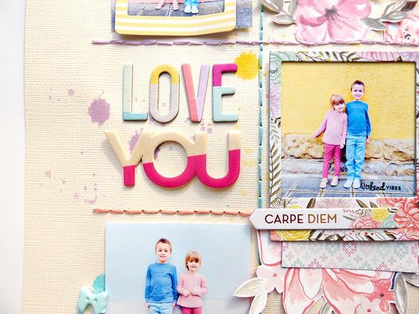 Love you   carpe diem detail 1 by paige evans original
