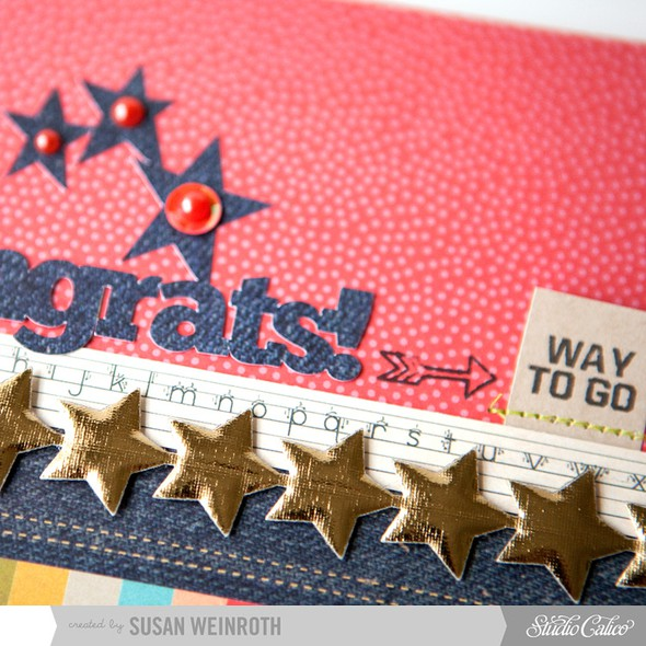 7   congrats card   detail   susan weinroth