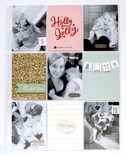 Pam baldwin making spirits bright documenter layout original