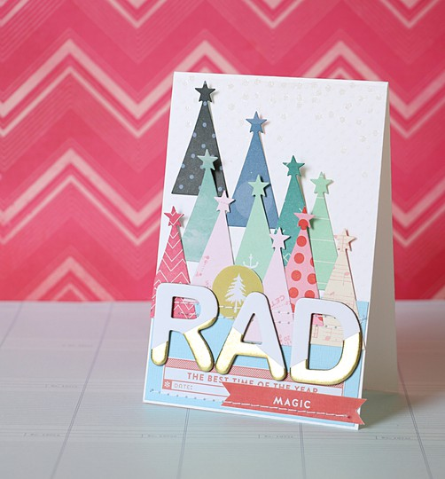 Rad card by natalie elphinstone original