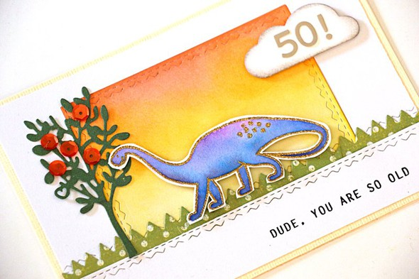 Dino card detail original