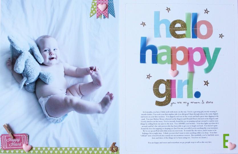 Hello happy girl