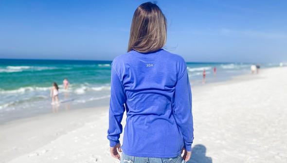 154117  simple beach happy comfort colors long sleeve tee wome flo blue slider4 original