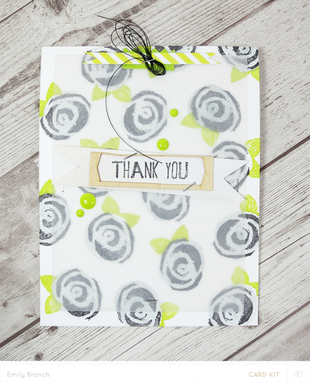 Thankyouroses card