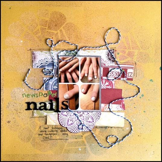 Newspaper nails lo may 2012