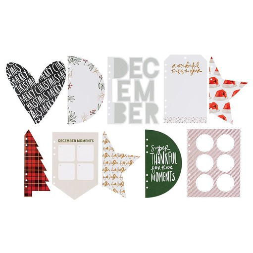 Picture of December Daily® 2021 Die Cut Paper Inserts