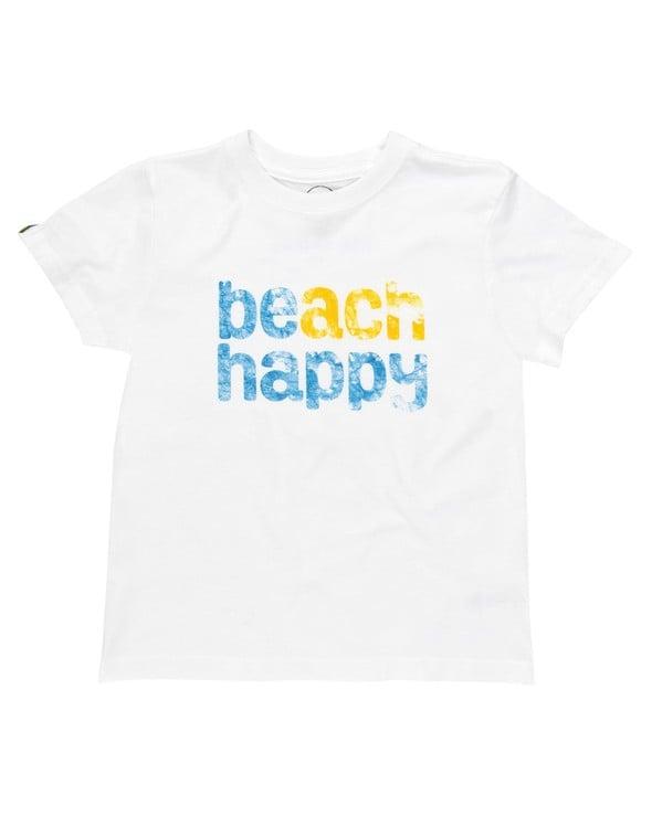 114356 beach happy short sleeve tee white kids slider 2 original