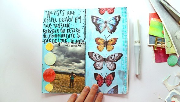 Art journal prompts marketing image 1 original