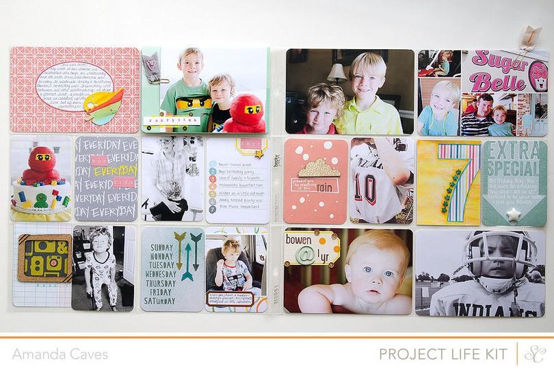 Itsmeamanda projectlife week32 fullspread