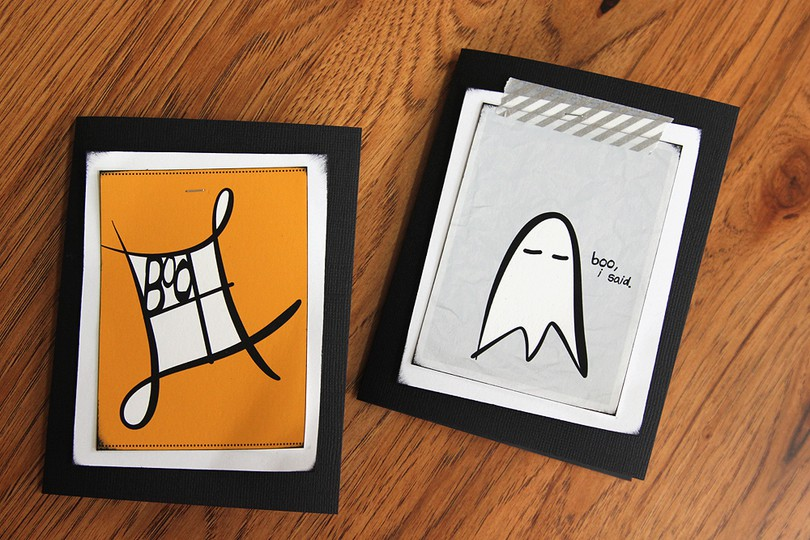 Etsy boo cards original