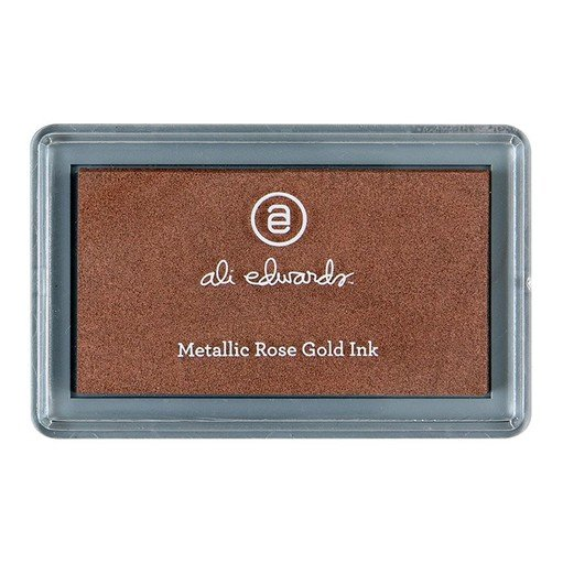 Picture of Metallic Rose Gold Ink Pad