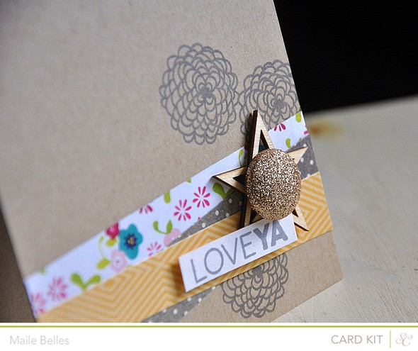 Love ya card detail