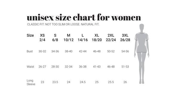 30a unisexwomen naturalfit sizecharts original