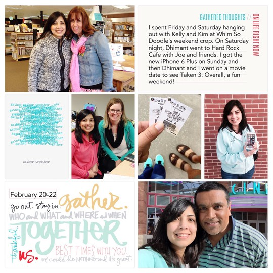 2015 project life february 04