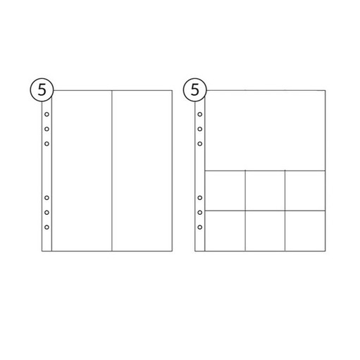 Picture of 6x8 Page Protector Combo Pack