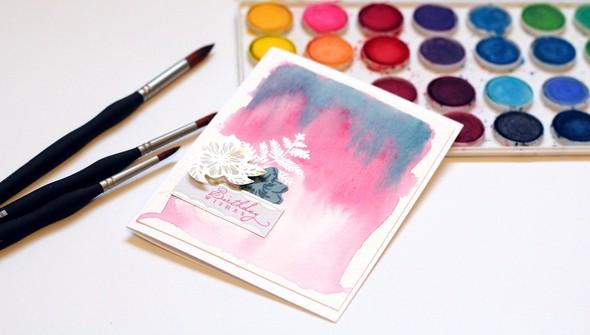 Teaser watercolor original
