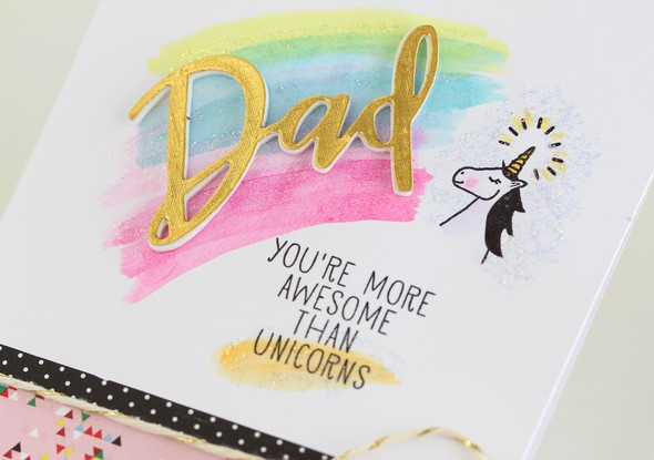 Dad unicorns closeup original