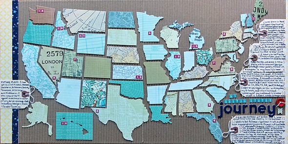 My united states journey by jennifer larson original