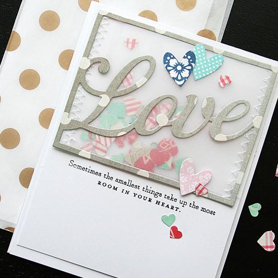 Love card  detail1