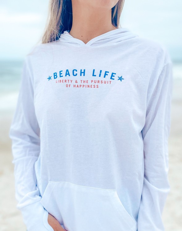 151913 beachlifelibertypursuitofhappinesspulloverhoodiewomenwhite slider2 original