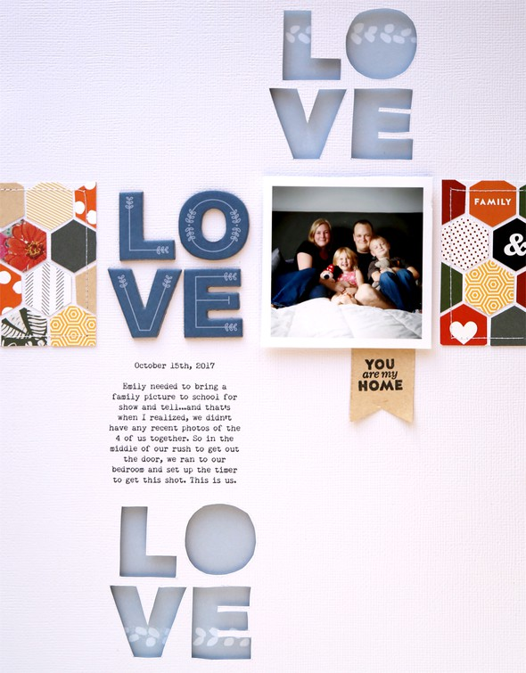 Pam baldwin homestead scrapbook layout original