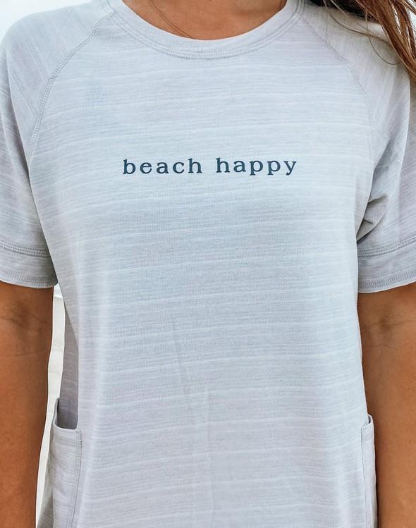 121977 simple beach happy french terry dress oatmeal women slider 3 original