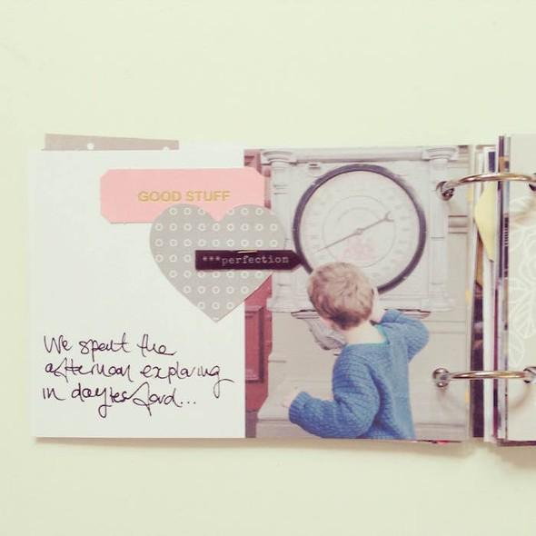 Glenlyon road trip mini book by mama finch 2 original