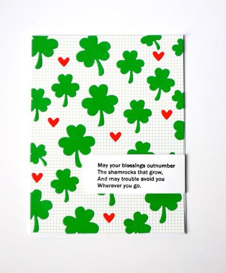 Irish blessings card original