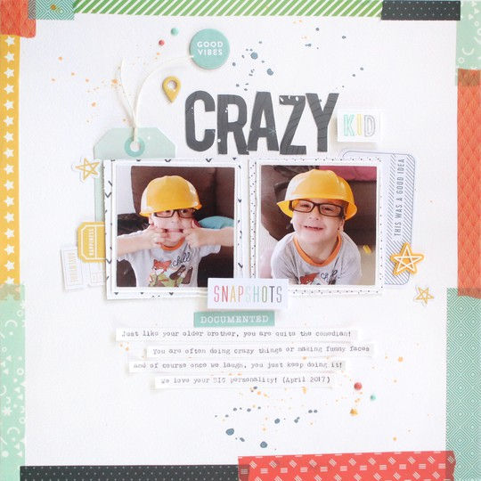 Crazy kid 1 original
