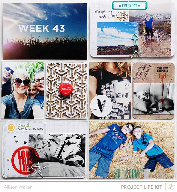 Allison waken project life week 43 2