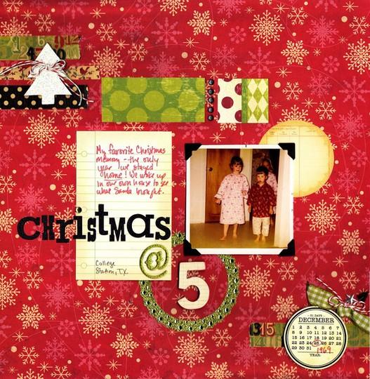 Christmas at 5