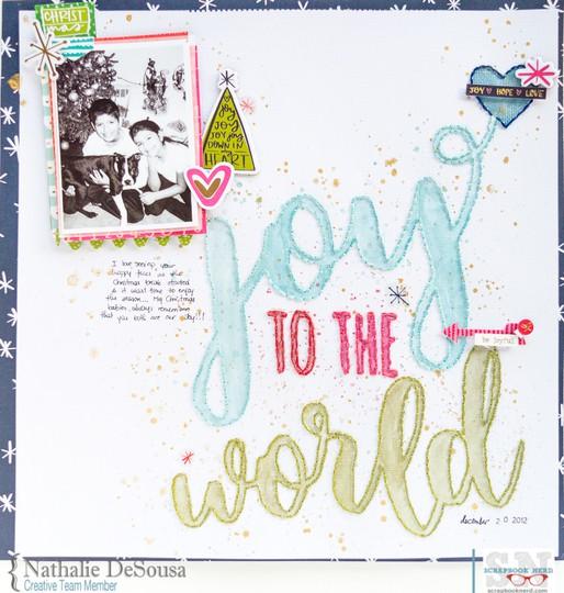 Sn nathalie desousa joy to the world original