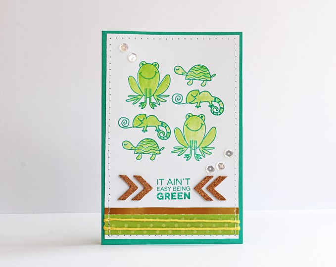 Easy green card by natalie elphinstone original