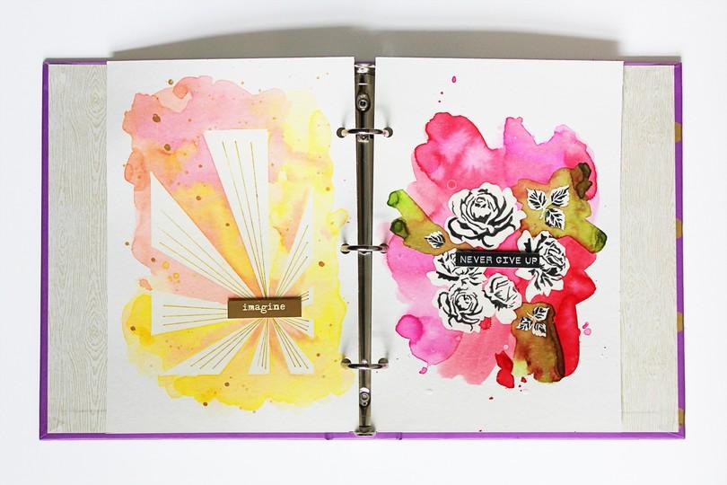 Art journal 11 full spread