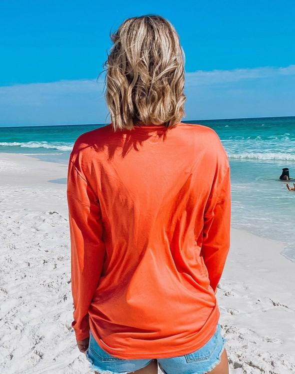 152533 beach happy long sleeve sun shirt coral women slider 3 original