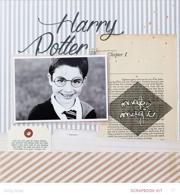 Harry potter   studio calico the underground kits   kelly noel