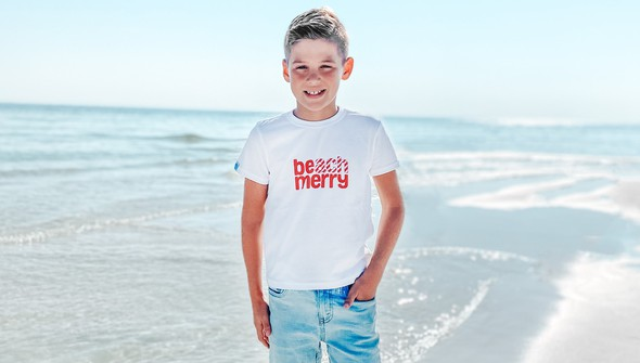 119034 beach merry stripes short sleeve tee kids white slider1 original