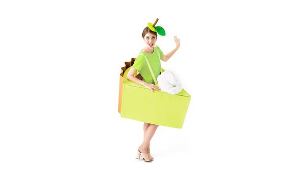 Green dress product listing costume photo1 original original