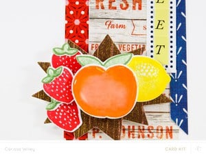Bluegrass farm fruit card 2 3