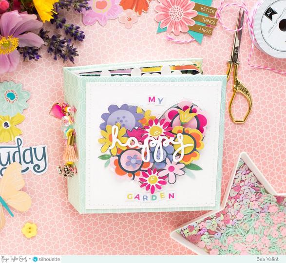 Happy garden minialbum bea valint 2 original