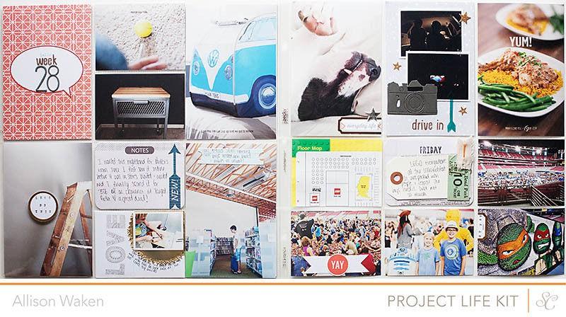 Allison waken project life week 28 1