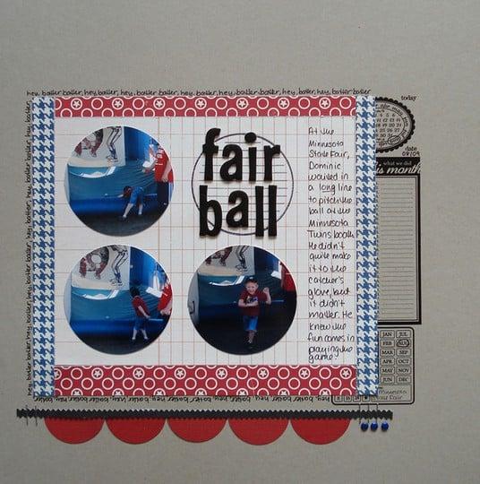 Fair ball dominic