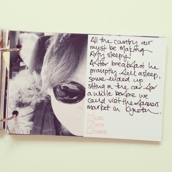Glenlyon road trip mini book by mama finch 6 original