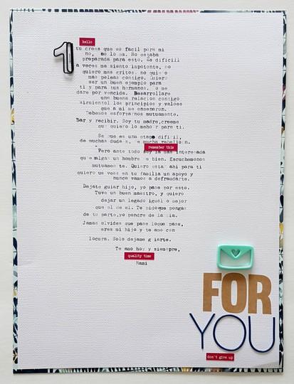 A letter for you original