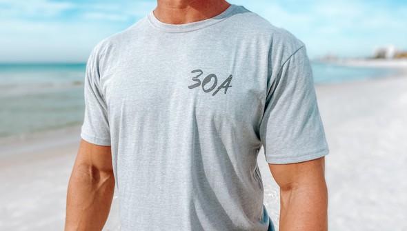 129461 sketched beach short sleeve tee   men   ash slider3 original