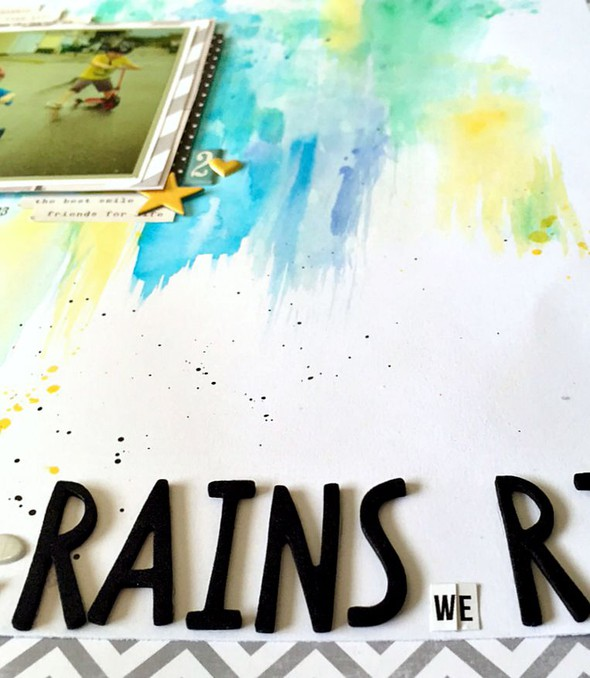 When it rains we ride layout   cu  rain background and partial title original