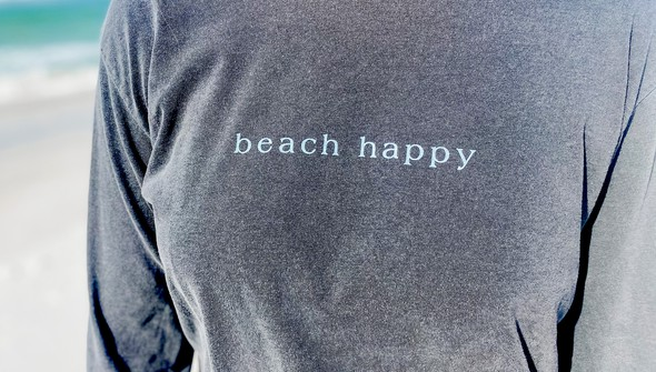 154099 simple beach happy comfort colors long sleeve tee women pepper slider2 %25281%2529 original