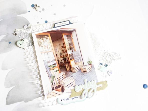 Enjoy scatteredconfetti scrapbooking layout pinkfreshstudio apli 3 original