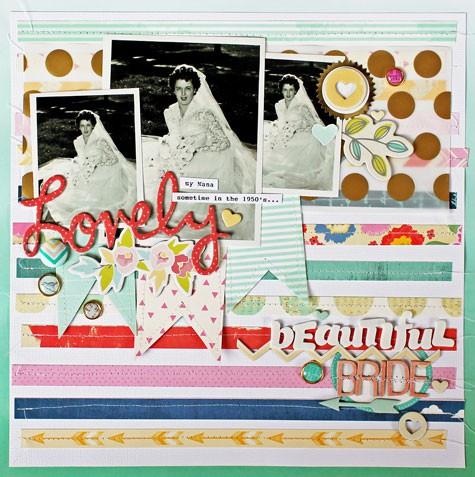 Lovely beautiful bride   la